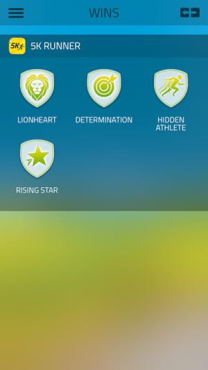 5K Runner Badges from Starling Fitness