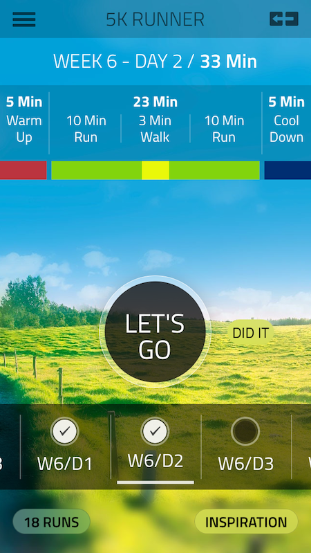 Starling fitness fitness diet and health weblog 5k for Couch 5k app