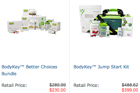 Amway BodyKey Kits from Starling Fitness