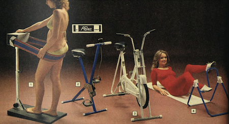 Argos 1979 Spring Catalogue Exercise Machines from Starling Fitness