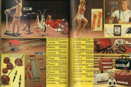 Argos 1979 Spring Catalogue Health and Fitness from Starling Fitness