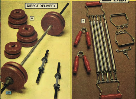 Argos 1979 Spring Catalogue Weights and Springs from Starling Fitness