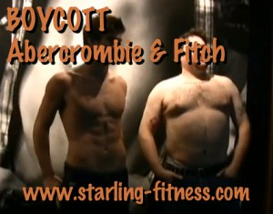 Boycott Abercrombie and Fitch from Starling Fitness