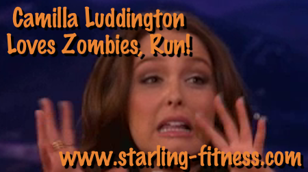 Camilla Luddington Loves Zombies, Run! from Starling Fitness