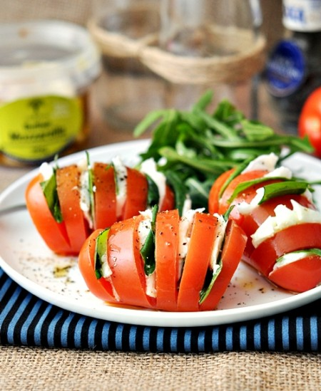 Caprese Salad from Starling Fitness