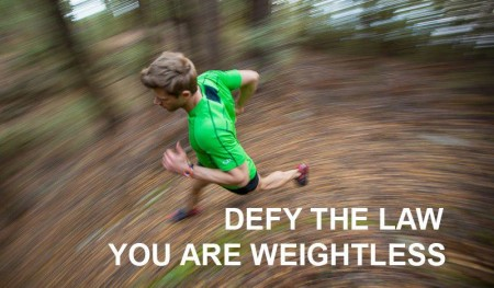 Defy the law. You are weightless. From Starling Fitness