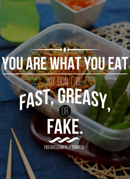 Don&#039;t Be Fast Greasy or Fake from Starling Fitness