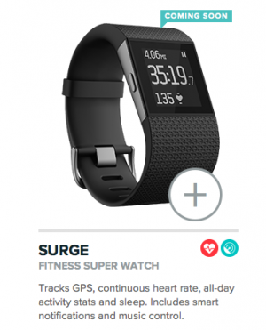 FitBit Surge from Starling Fitness