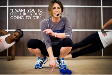 I want you to feel like you're going to die. Jillian Michaels from Starling Fitness