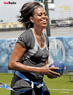 Michelle Obama Let's Move Campaign