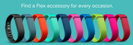 Interchangeable Bands for the Fitbit from Starling Fitness