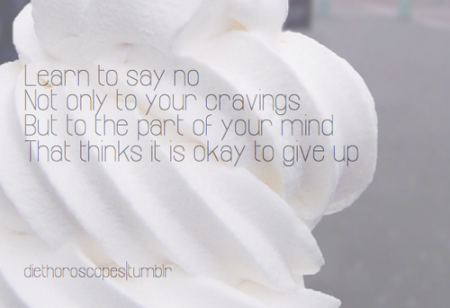 Learn to say no to your cravings and your mind from Starling Fitness