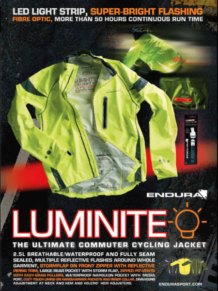 Luminite Reflective Jackets from Starling Fitness