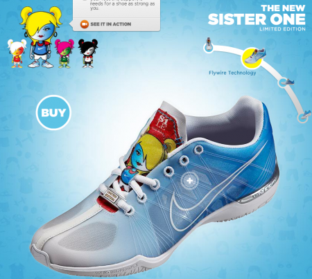 Nike Zoom Sister One S1LE
