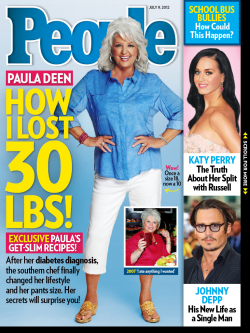 People Magazine 07-09-12 Paul Deen Lost 30 Pounds