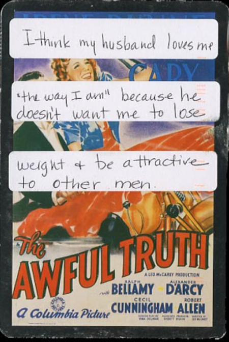 PostSecret: The Awful Truth