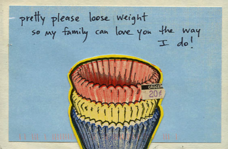 PostSecret: Please Loose Weight
