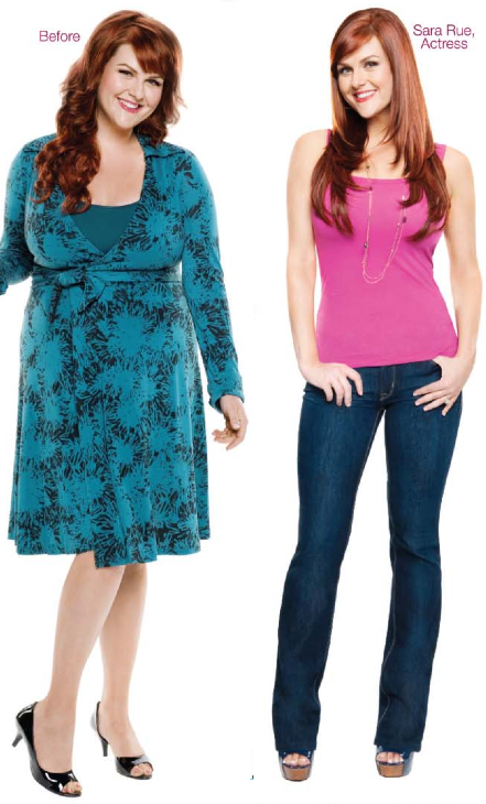 Sara Rue Lost 50 lbs on Jenny Craig