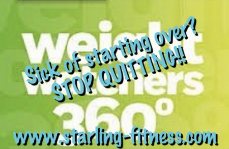 Sick of Starting Over? Stop Quitting! from Starling Fitness
