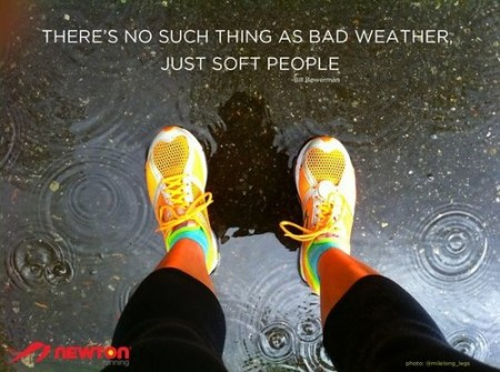 There&#039;s no such thing as bad weather from Starling Fitness