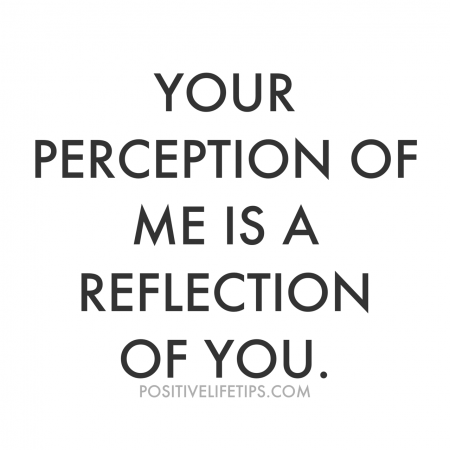 Your Perception of Me Is A Reflection of You from Starling Fitness