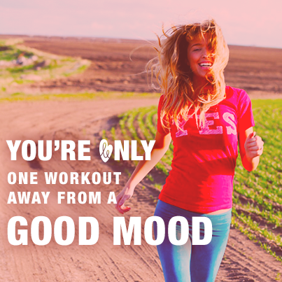 You're Only One Workout Away From A Good Mood from Starling Fitness
