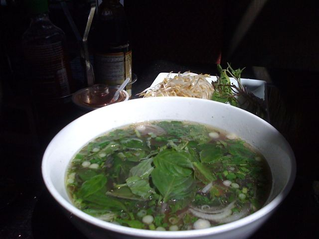 How To Eat Pho Tai Soup