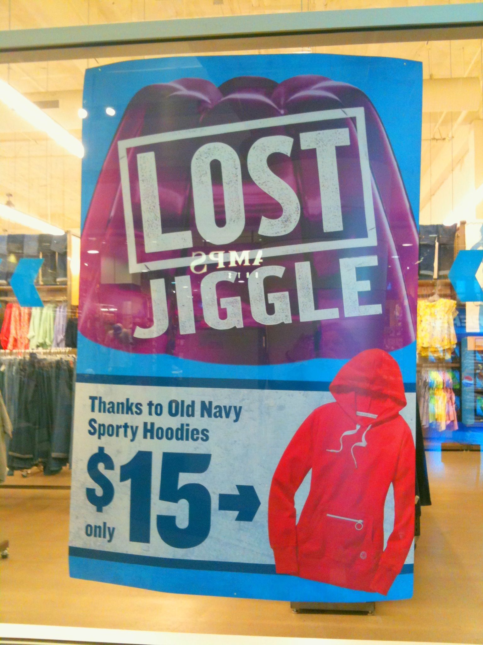 Old Navy Lost Jiggle