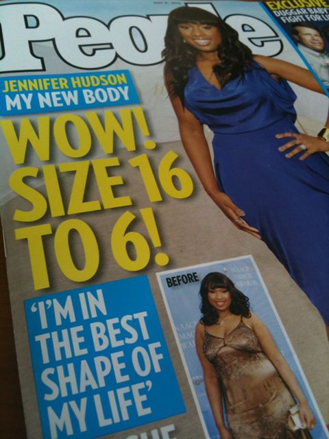 Weight Watchers on the Cover of People Magazine